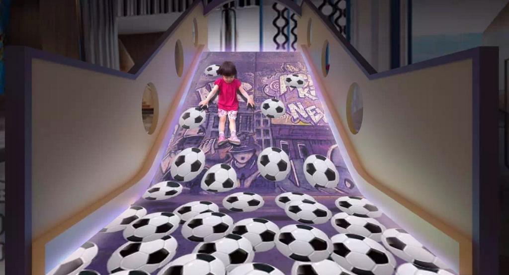 斯当特儿童互动滑梯