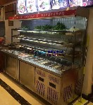 唐记煌砂锅串串香保鲜柜,宿州冷冻保鲜自助点菜柜开放式