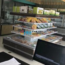 超市生鮮環島柜,鄭州水果店風冷柜,KTV飲料酒水展示冰柜