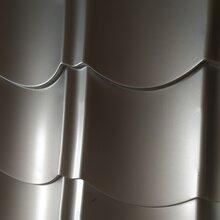乌鲁木齐铝合金仿古瓦新疆铝镁锰屋面瓦金属仿古绿色节能环保材料图片