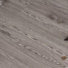 廠家佛山批發耐磨片材4mm石塑地板膠灰白色木紋PVC卡扣地板圖片