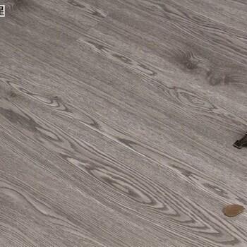 厂家佛山批发耐磨片材4mm石塑地板胶灰白色木纹PVC卡扣地板