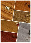 厂家佛山批发防水耐磨环保防滑外贸出口免胶零甲醛木纹PVC锁扣地板
