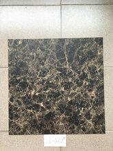 广东仿大理石电梯轿厢PVC地板灰白米黄色瓷砖纹塑胶地板防水耐磨图片