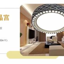 LED智能吸顶灯厂家批发乐兰仕照明图片