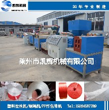 節能高效塑料拉絲機,塑料拉絲機廠家,塑料制繩機圖片