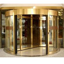 河西区定制旋转门安装玻璃旋转门价格低廉图片