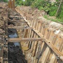 广州钢板桩打拔支护公司清远钢板桩施工价格钢板桩工程承包