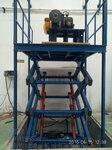海南三亚SJG固定式升降机固定剪叉式升降货梯结构简单载重量大使用寿命长维护方便峻峰机械送货上门