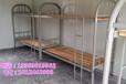 工地宿舍专用床上下铺床订购铁架床合肥双层床