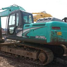 加强型二手神钢260-8原装挖掘机的价格260-8行情走势