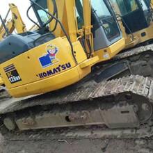 小松128US二手挖掘机2017新款进口国产12吨土方机