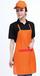 河南工作服厂家定做大型商场超市面包房马甲围裙