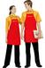 叶县定做便利店工作服防污围裙定制店员统一工装制服定制三件套团体工衣