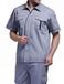 周口厂家加油站电力工程防静电工装短袖全棉工衣定制