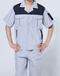 安阳车间工人工装夏季短袖宽松工作服团体定制精选优质面料