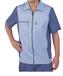 安阳半袖工装时尚工作服修身款型员工工作服团体定做质量保证