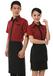 平顶山餐饮公司统一服装迎宾服专业定制收银员服装服务员服装简单大方做工精细
