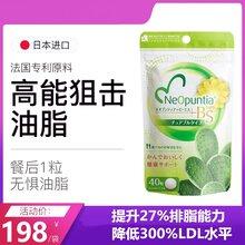 日本BS美安圣排油丸法国专利梨果仙人掌27%排脂降300%LDL图片