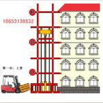 导轨式液压升降货梯、仓库货梯、简易货物提升机、货梯厂家济南厂家