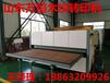 双面加热的真空木纹转印机,压花板可以转印4-10张。