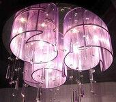 西安水晶灯清洗公司灯具清洗