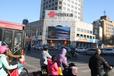 潍坊东风街与四平路交叉口联通LED