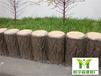 浙江省杭州市仿樹樁圍墻砼預制仿木欄桿每米價格