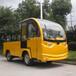 工厂景区物业电动载货车,四轮平板转运工程车,可改装
