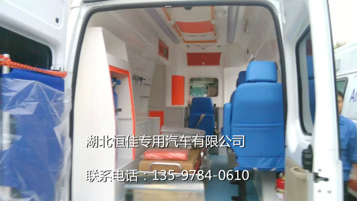 福特全顺120急救车救护车价格,厂家,报价