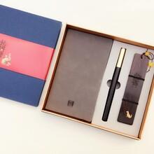 定制创意红木笔筒办公商务礼品套装办公文具摆件笔筒定制
