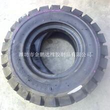 工业叉车胎18x7-8叉子车轮胎含内胎价格