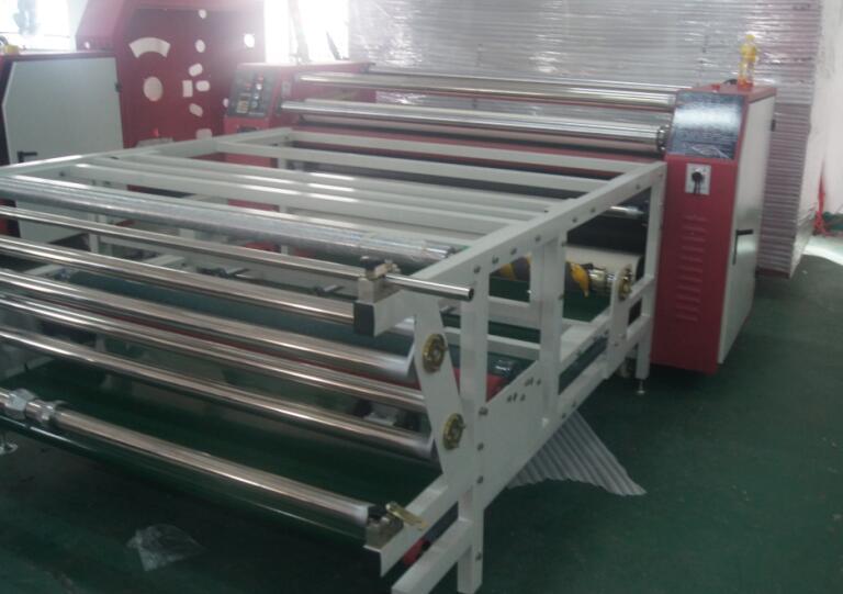 东莞至上GB-1800数码印花机,北京服装印花机,天津地毯印花机天津印花机双工位烫画机