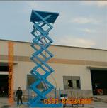 济南厂家低价销售超大台面升降平台移动式大吨位升降机升降货梯图片