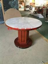 南山区石材桌子,大理石桌子,六人位,八人位,现代中式行一家具xy·10