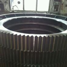 河南建矿厂家定做各种规格型号球磨机齿圈,烘干机光圈,破碎机皮带轮