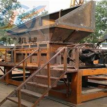 重型1500廢金屬料雙軸金屬撕碎機建礦廠價直銷注冊商標圖片