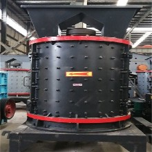 现货1750型数控立轴变频制沙机河南建矿鹅卵石制沙机械厂家图片