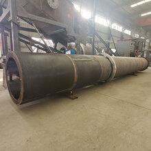 河南建矿1.65乘46米小型陶粒砂回转窑全套生产线设备销售图片
