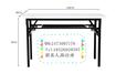 合肥折叠长条桌公司办公培训桌促销桌携带摆摊桌厂家批发
