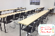 合肥办公简易折叠桌长条会议桌培训桌家用书桌餐桌批发