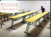 全新可升降式课桌椅合肥厂家批发板式钢架培训桌书桌出售