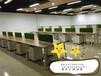 现代公司职员办公桌合肥屏风隔断桌板式培训桌出售