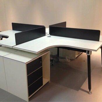 現代職員鋼架辦公桌鋁合金卡座屏風隔斷電腦桌合肥廠家