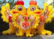 充气鸡年吉祥物气模鸡卡通造型新年春节广场布置商场入口装饰