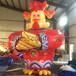 充气卡通鸡气模新年广场布置道具鸡仔卡通