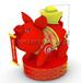 定制猪年吉祥物气模充气金猪招财猪金色存钱罐新年春节大型卡通气