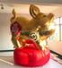 充气猪年猪卡通气模2019新年春节布置道具商场房产景区春节装饰