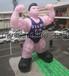 充气肌肉男气模人偶健身俱乐部宣传道具Giantinflatablemusclemanballoon