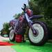 充氣摩托車仿真氣模大型摩托車模型警車雅馬哈太子摩托跑車道具